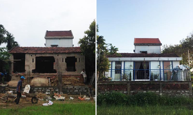 Rời Sài Gòn, gia đình về quê cải tạo chuồng heo thành nơi đáng sống