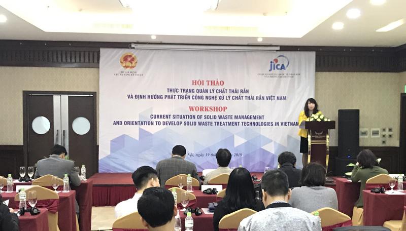Phát triển công nghệ xử lý chất thải rắn tại Việt Nam