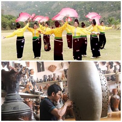 """Trình UNESCO hồ sơ """"Nghệ thuận Xòe Thái"""" và """"Nghệ thuật làm gốm của người Chăm"""""""