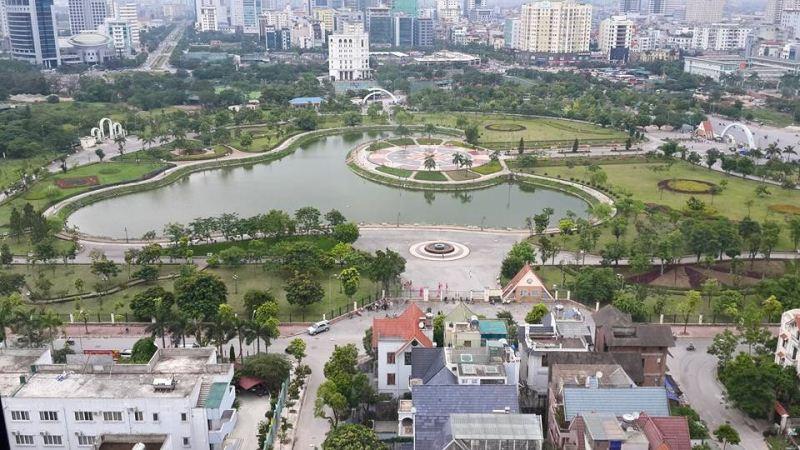 """Cầu Giấy (Hà Nội): """"Xén"""" đất công viên, xây dựng bãi đỗ xe ngầm"""