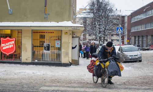 Người vô gia cư ở quốc gia hạnh phúc nhất thế giới