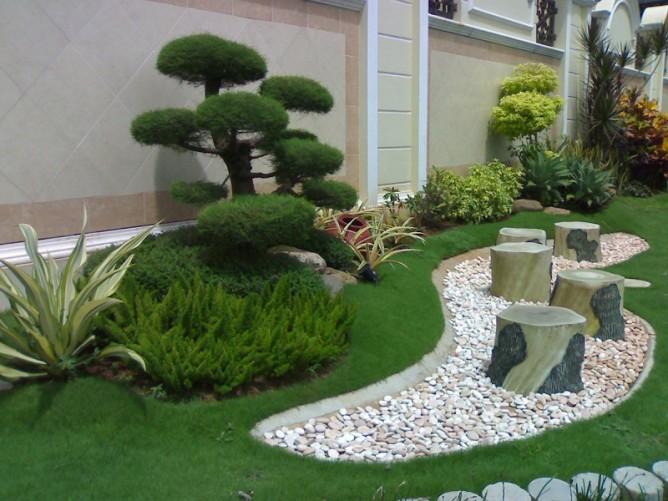 Kết quả hình ảnh cho Thi công đá rửa khuôn viên cảnh quan