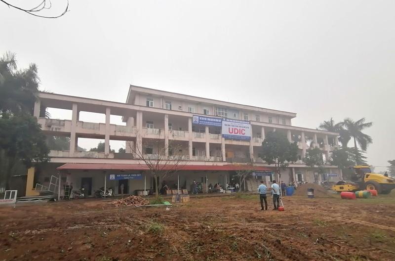 Hà Nội: Cải tạo Bệnh viện Đa khoa huyện Mê Linh (cũ) thành khu cách ly quy mô 200 giường
