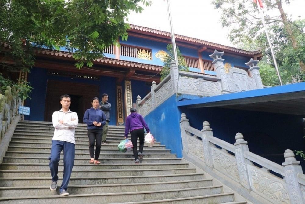 Thái Nguyên: Quyết định Thanh tra liên ngành tại đền Đá Thiên