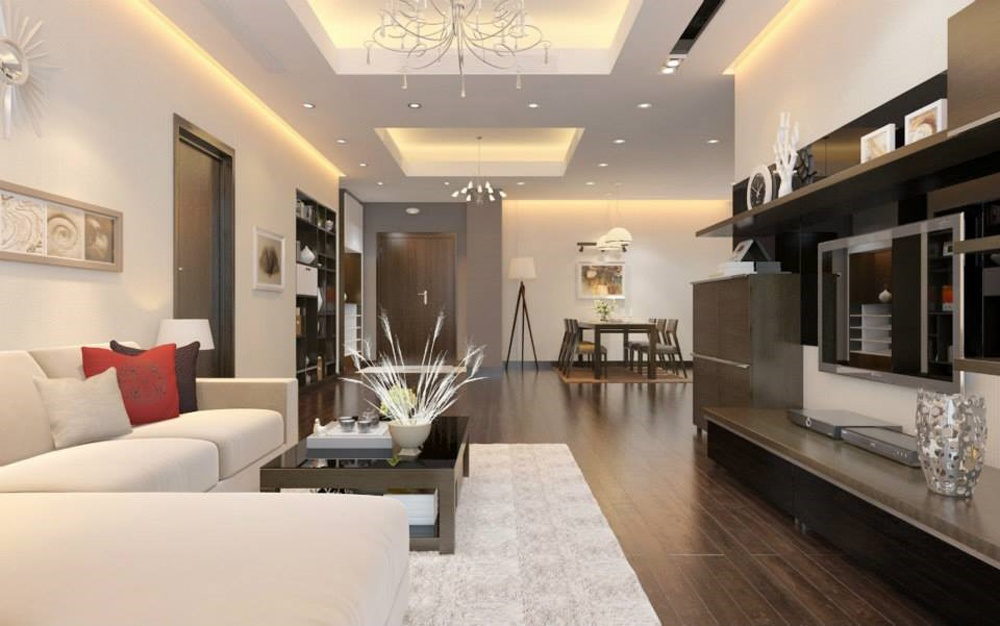 Ưu điểm của thiết kế nội thất chung cư theo phong cách hiện đại