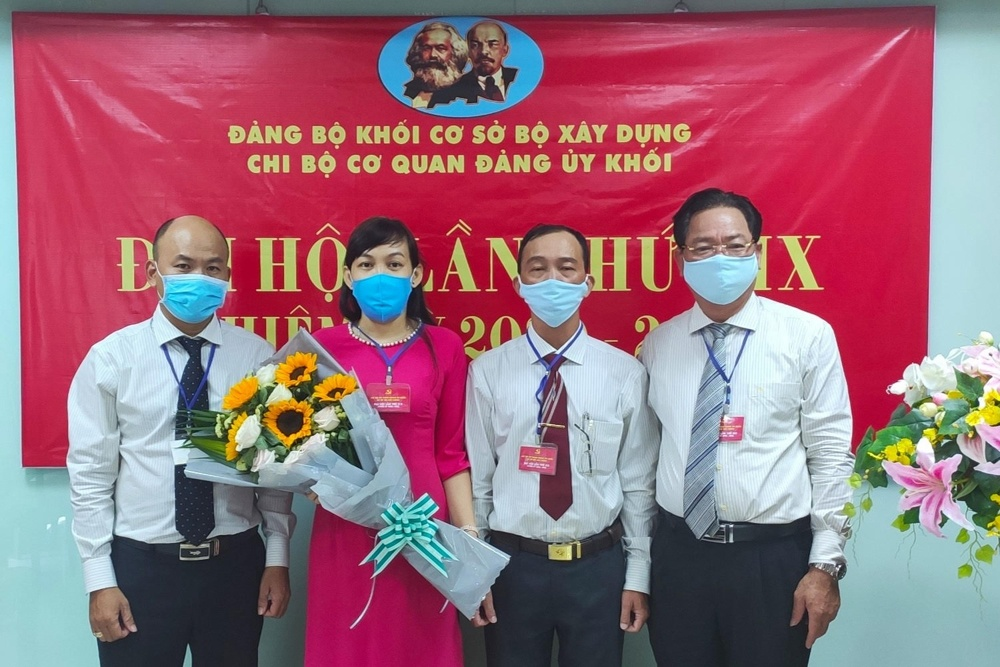 Cơ quan Đảng ủy Khối Bộ Xây dựng tại Thành phố Hồ Chí Minh tổ chức Đại hội Chi bộ nhiệm kỳ 2020 – 2025