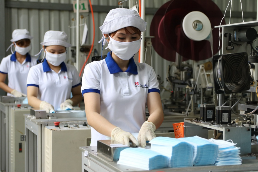 Tổng cục Hải Quan thông tin về việc xuất khẩu khẩu trang