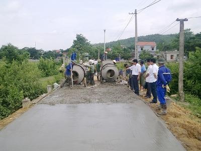 Ninh Bình: Khởi công xây dựng công trình thanh niên xây dựng Nông thôn mới
