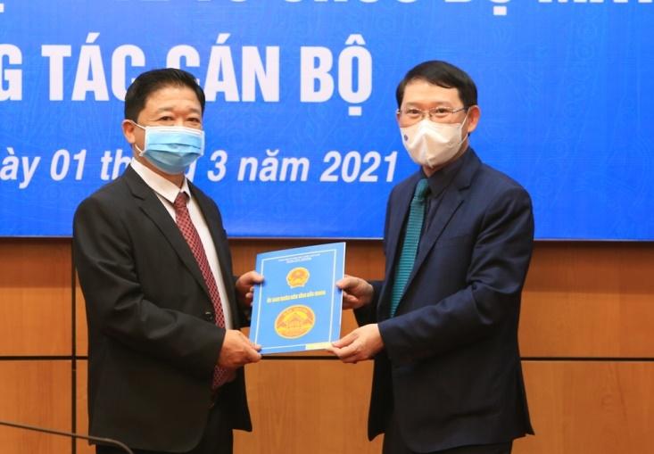 Bắc Giang: Điều động, bổ nhiệm lãnh đạo Sở Xây dựng