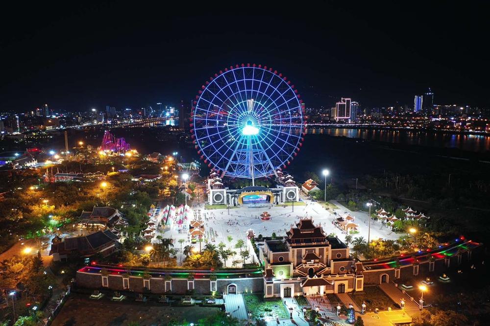 cong vien chau a asia park to chuc show uoc hen thang 3 tang cho phai dep dip 83