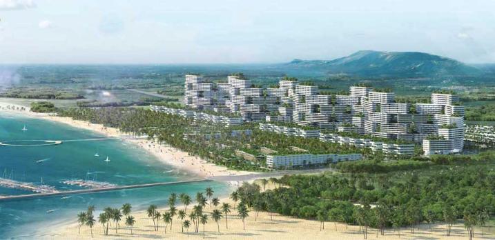 Bình Thuận: Chưa có thiết kế bản vẽ thi công, dự án Thanh Long Bay bị xử phạt 17,5 triệu đồng