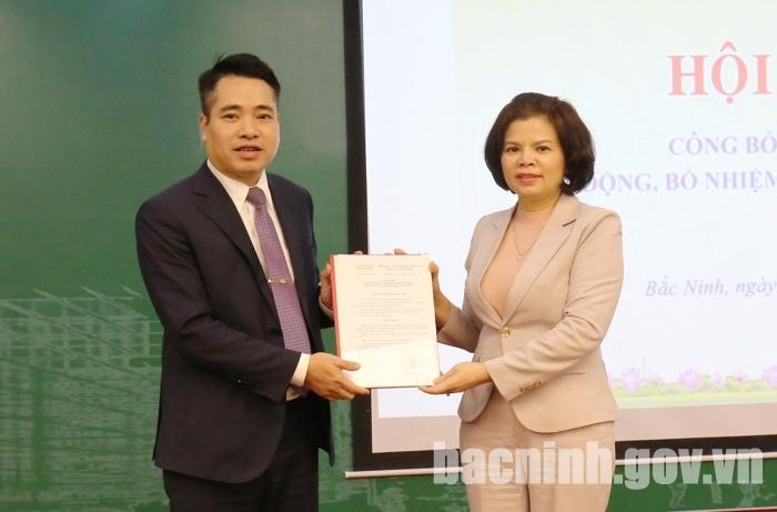 Bắc Ninh: Trao Quyết định bổ nhiệm Giám đốc Sở Xây dựng