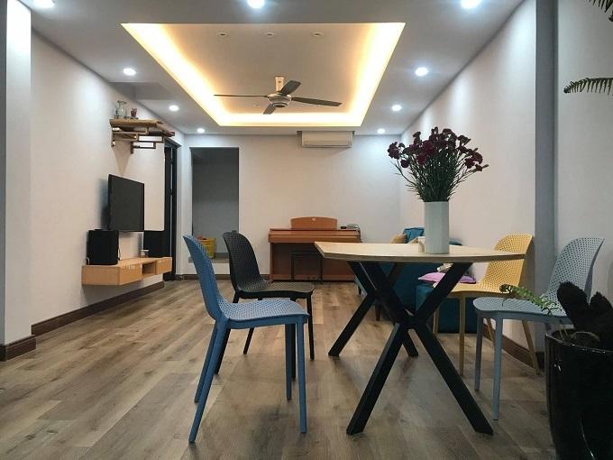 Vợ chồng trẻ Hà thành biến căn hộ tập thể cũ thành chung cư cao cấp