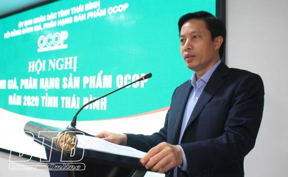 thai binh danh gia 17 san pham ocop nam 2020