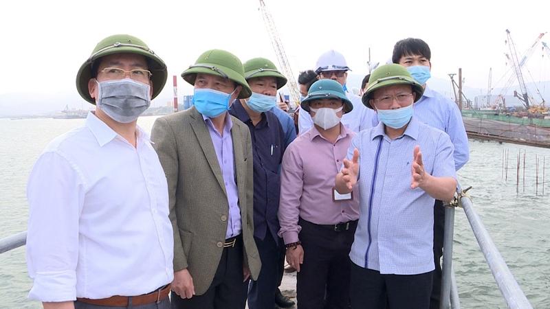 Quảng Ninh: Công trình trọng điểm đẩy nhanh tiến độ thi công trong mùa khô