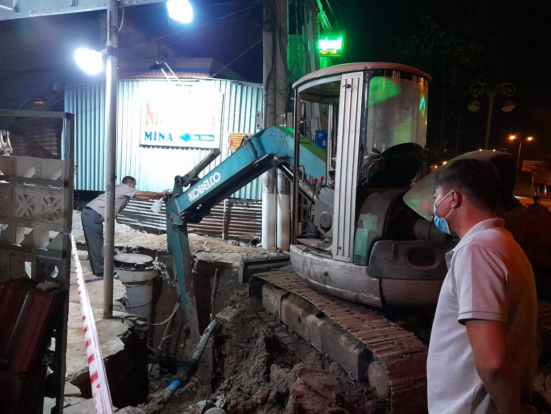 Bình Dương: Sạt lở phui đào khiến công nhân tử vong tại dự án thoát nước thải