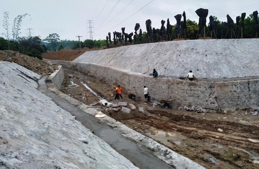Cẩm Phả (Quảng Ninh): Thanh tra, kiểm tra dự án mương thoát nước thôn Tân Hải