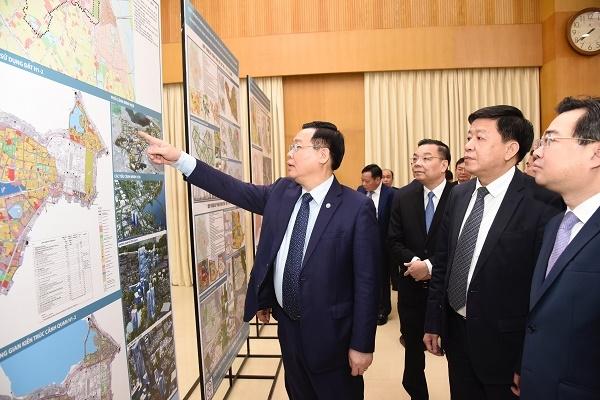 Hà Nội: Công bố đồ án quy hoạch phân khu 4 quận nội đô lịch sử