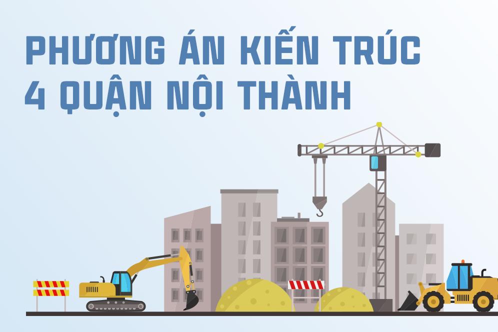 Diện mạo 4 quận nội thành Hà Nội sẽ thay đổi thế nào?
