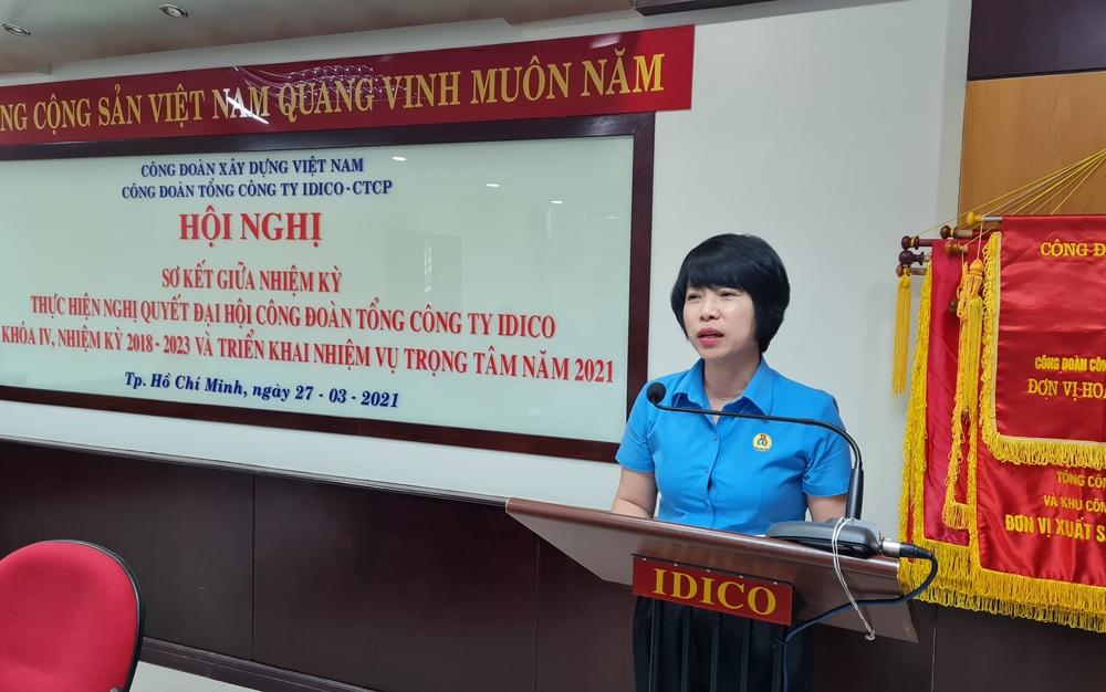 Công đoàn Tổng Công ty Idico tổ chức Hội nghị sơ kết nửa nhiệm kỳ 2018 - 2023