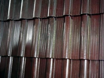 Ngói siêu nhẹ sản xuất từ  nhựa trấu