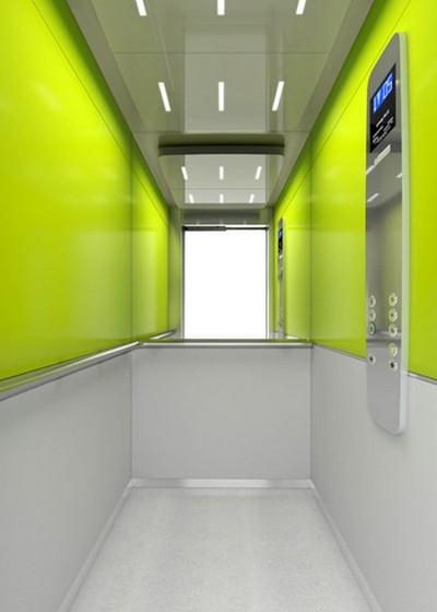 Biến đổi không gian thang máy