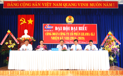 Đại hội công đoàn Cty CP Lilama 45.1 lần thứ VIII
