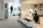 Thiết kế mới lạ cho căn hộ 85 tuổi