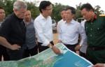 Thứ trưởng Nguyễn Đình Toàn khảo sát Khu kinh tế Cửa khẩu Móng Cái