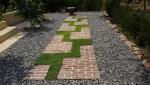 Trang điểm cho sân vườn với lối đi siêu đẹp mắt