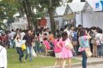 Giới trẻ nô nức đi hội chợ sách Thủ đô