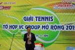 Khai mạc giải Tennis VC Group mở rộng năm 2015