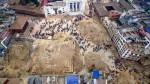 Hiện trường Nepal hoang tàn nhìn từ camera bay