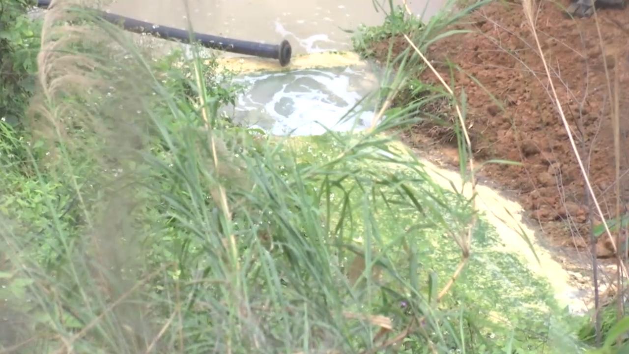 Nước thải từ nhà máy axít chảy ra môi trường