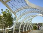 Cầu đi bộ lấy cảm hứng thiết kế từ sóng biển