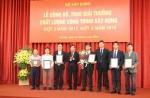 Trao Giải thưởng về chất lượng công trình xây dựng