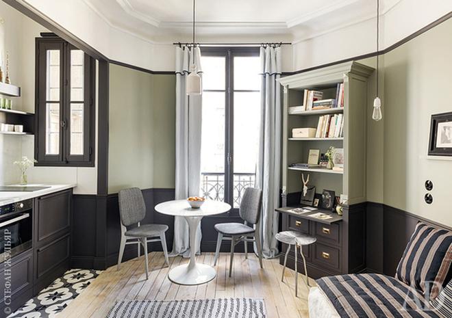 Căn hộ 18 m2 tiện nghi không kém nhà rộng
