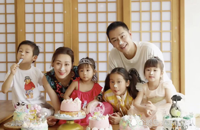 'Đoàn Dự' Trần Hạo Dân khoe tổ ấm hạnh phúc với 4 con nhỏ ở tuổi 50