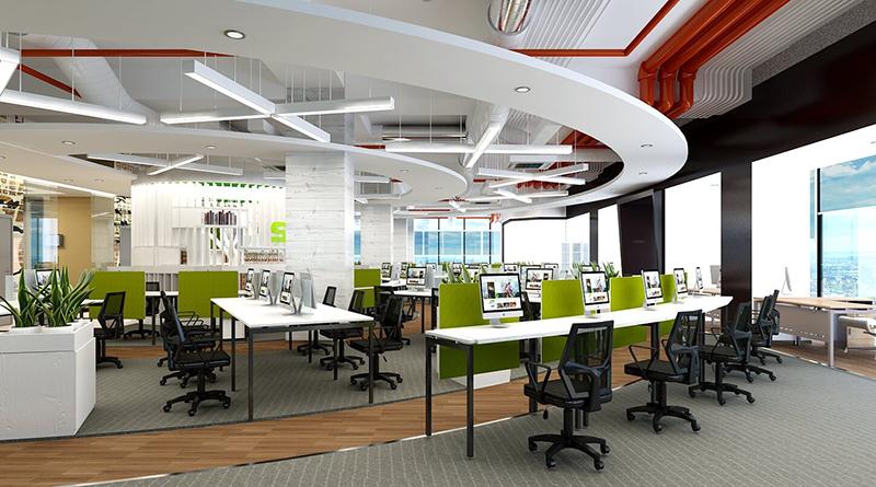 Những điều cần lưu ý khi thiết kế văn phòng