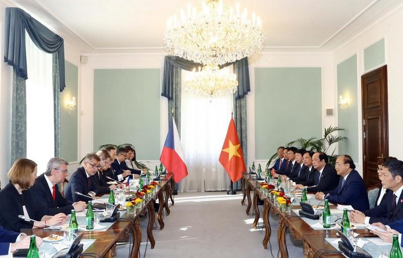 Tuyên bố chung Việt Nam-Cộng hòa Séc nhân chuyến thăm của Thủ tướng
