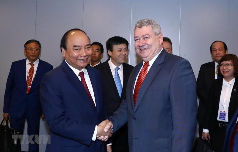 Các hoạt động của Thủ tướng trước khi kết thúc chuyến thăm Séc