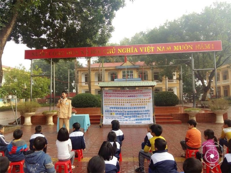 Tam Dương (Vĩnh Phúc): Nâng cao kiến thức an toàn giao thông cho học sinh