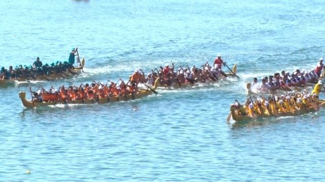 Quảng Bình: Tổ chức đua thuyền truyền thống trên sông Nhật Lệ