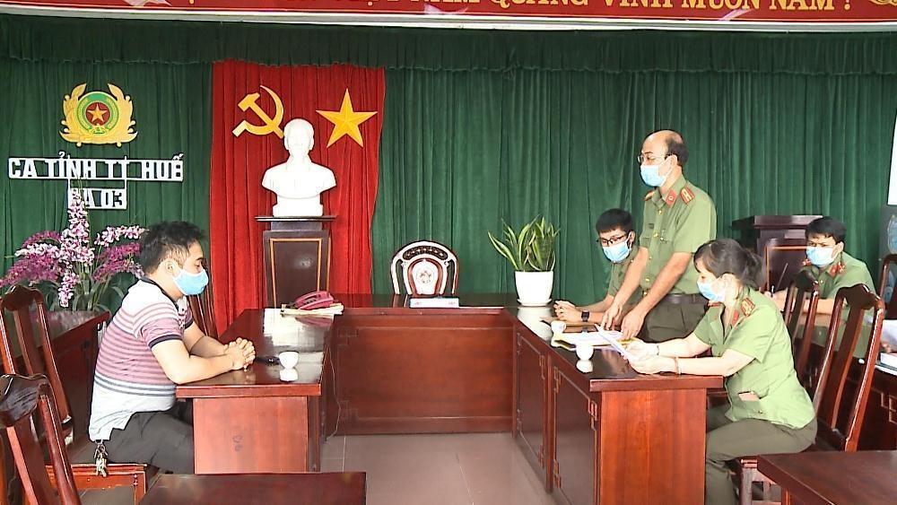 Công an tỉnh Thừa Thiên - Huế phạt một cá nhân 18 triệu đồng vì cung cấp thông tin sai sự thật