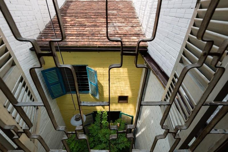 Ngôi nhà 45m2 mang nét truyền thống tại TPHCM