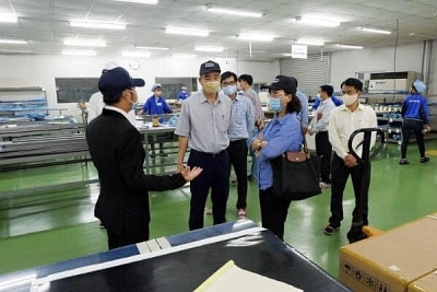 Đà Nẵng: Kiểm tra công tác phòng, chống dịch bệnh tại một số doanh nghiệp