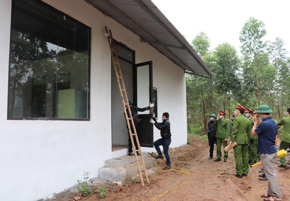 Vĩnh Yên (Vĩnh Phúc): Việc tháo dỡ công trình xây dựng tại khu Địa Chất Chùa Hà có đúng thẩm quyền