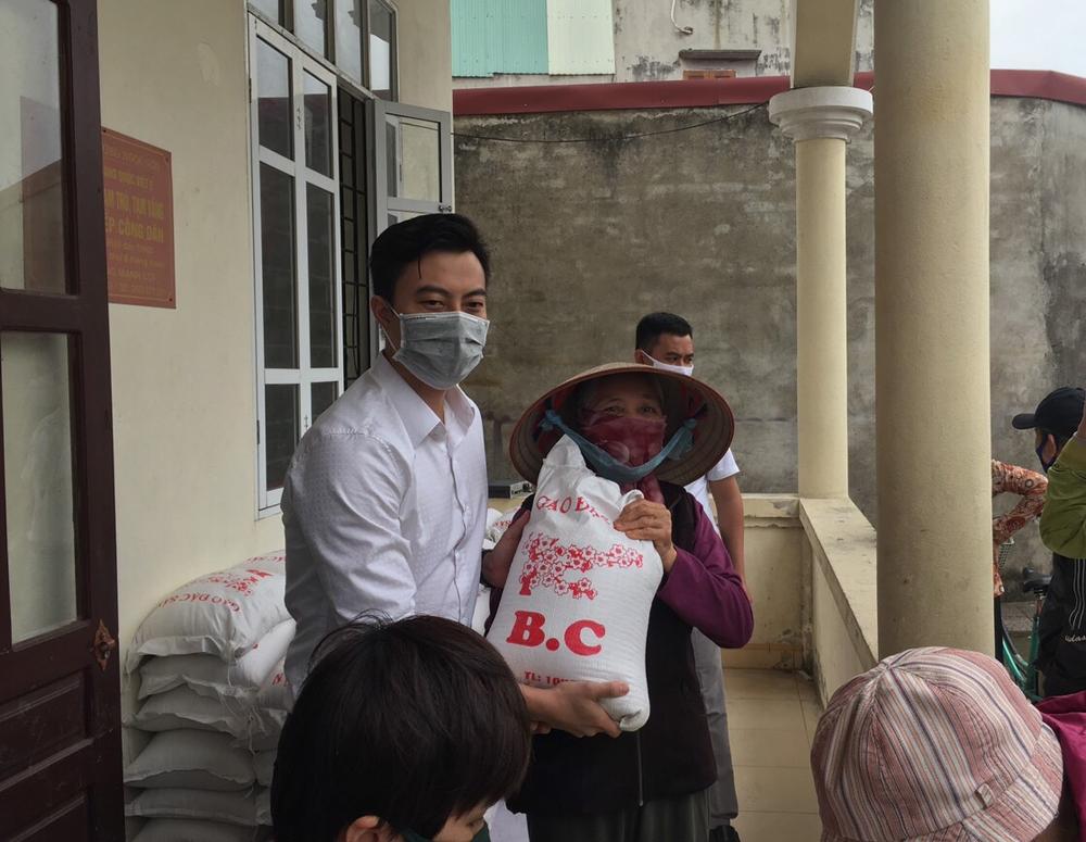 Hải Phòng: Công ty Thanh Phúc hỗ trợ 1 tấn gạo cho quận Kiến An chống dịch