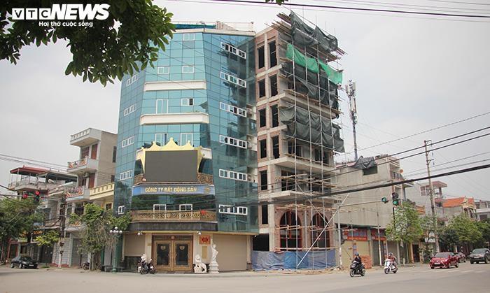 """Thái Bình: Trụ sở công ty bất động sản của Đường """"Nhuệ"""" vi phạm trật tự xây dựng"""