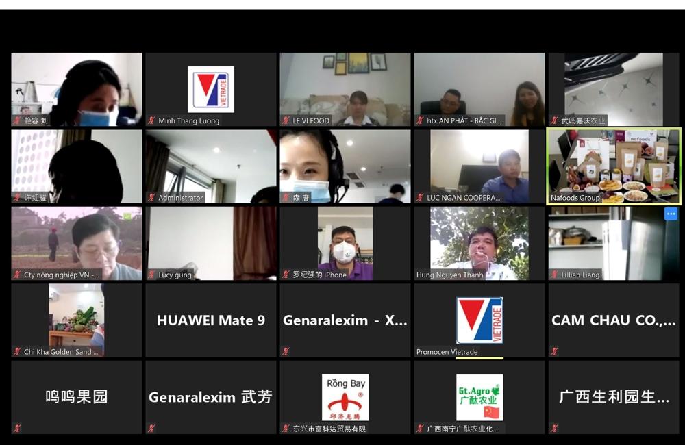cuc xuc tien thuong mai ho tro 35 doanh nghiep viet nam xuat khau nong san thuc pham sang trung quoc